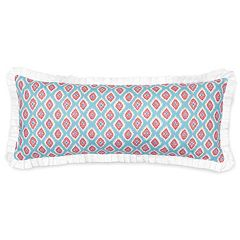 Haute Girls Rosalie Printed Ikat Throw Pillow