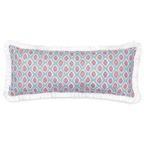 Haute Girls Rosalie Printed Ikat Throw Pillow