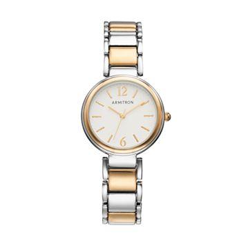 Armitron Women's Two Tone Watch - 75/5467SVTT