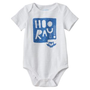 Baby Boy Jumping Beans® Graphic Slubbed Bodysuit