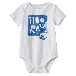 Baby Boy Jumping Beans® Graphic Slubbed Bodysuit