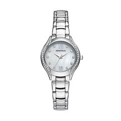 Armitron Women's Crystal Watch - 75/5469MPSV