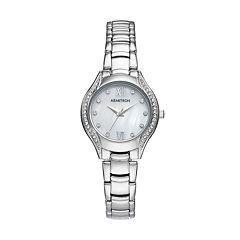 Armitron Women's Crystal Watch - 75/5469MPSV