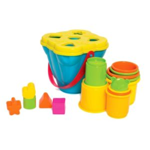 Playgro Shape Sorting & Stacking Buckets