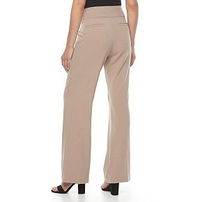 Women's Dana Buchman Midrise Wide-Leg Pull-On Pants