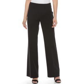 Women's Dana Buchman Midrise Wide-Leg Pull-On Pants