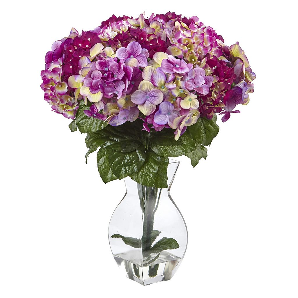 nearly natural Beauty Hydrangea Artificial Floral Arrangement