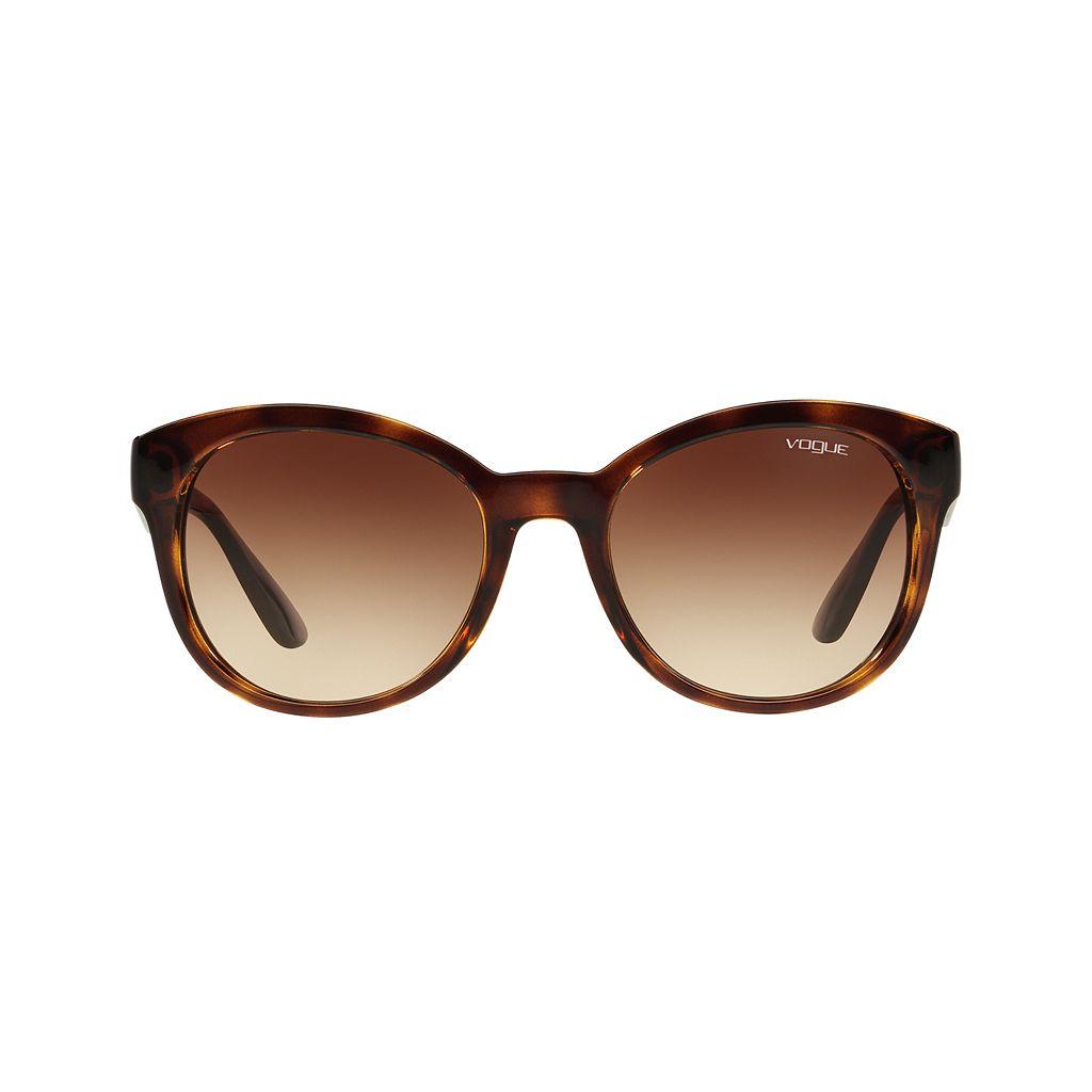 Vogue VO2992S 53mm Round Gradient Sunglasses