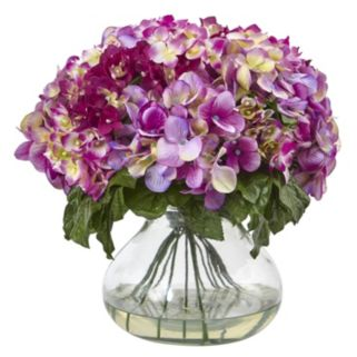 nearly natural Hydrangea Artificial Floral Arrangement