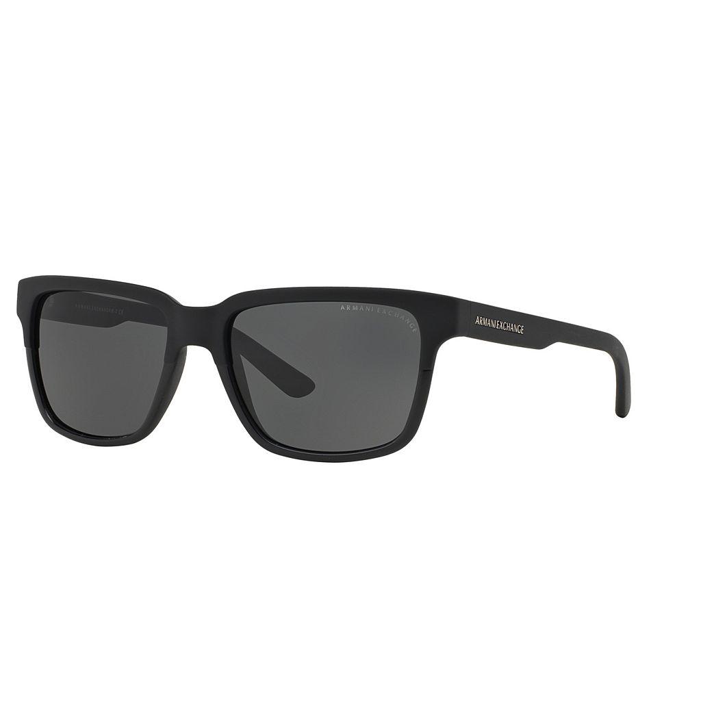 Armani Exchange AX4026S 56mm Square Sunglasses