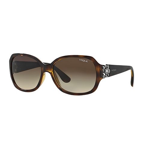 Vogue VO2778SB 58mm Square Gradient Sunglasses