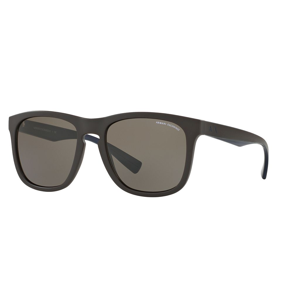Armani Exchange AX4058S 55mm Square Sunglasses