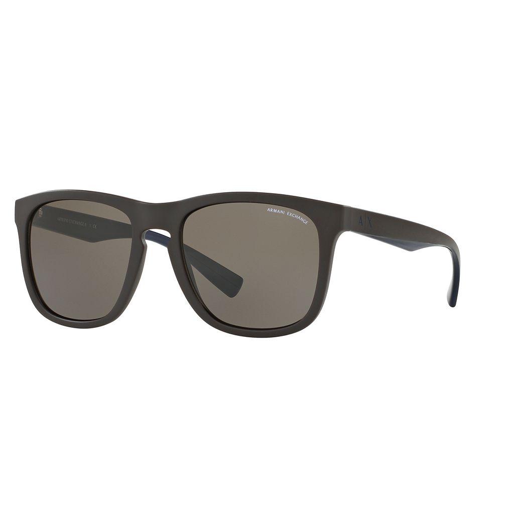 Armani Exchange AX4058S 55mm Square Sunglasses