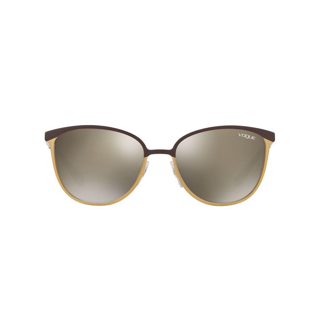 Vogue VO4002S 55mm Square Mirror Sunglasses