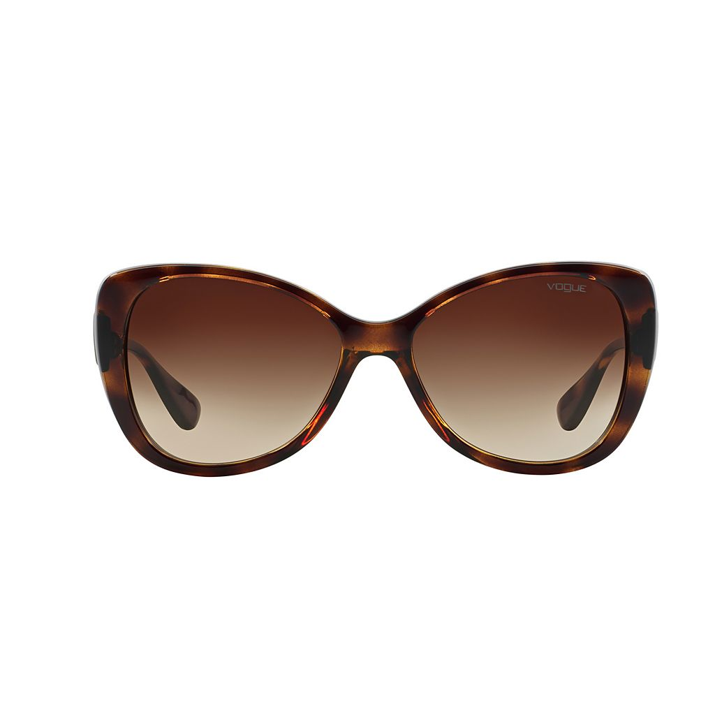 Vogue VO2819S 58mm Butterfly Gradient Sunglasses