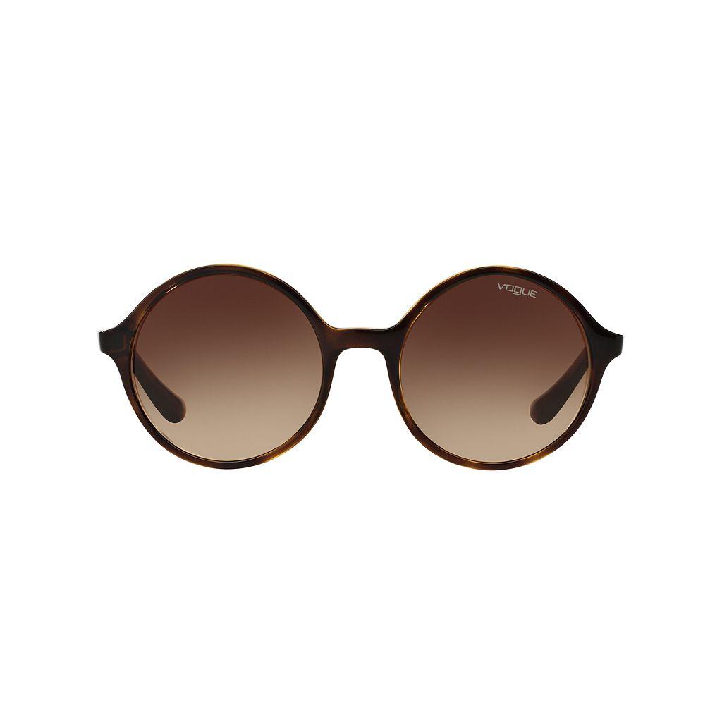 Vogue VO5036S 52mm Round Gradient Sunglasses