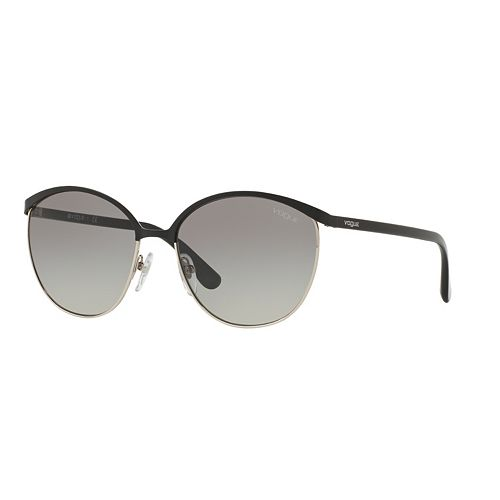 Vogue VO4010S 57mm Round Gradient Sunglasses