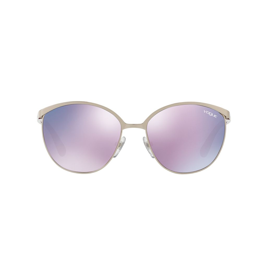 Vogue VO4010S 57mm Round Mirror Sunglasses