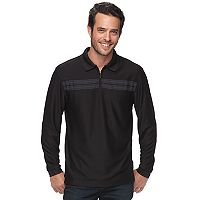 Men's Haggar Regular-Fit Quarter-Zip Polo