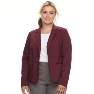Plus Size Apt. 9® Torie Solid Blazer