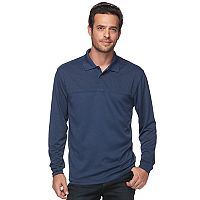 Men's Haggar Regular-Fit Marled Easy-Care Polo
