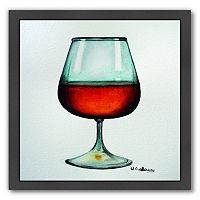Americanflat Rum Black Framed Wall Art