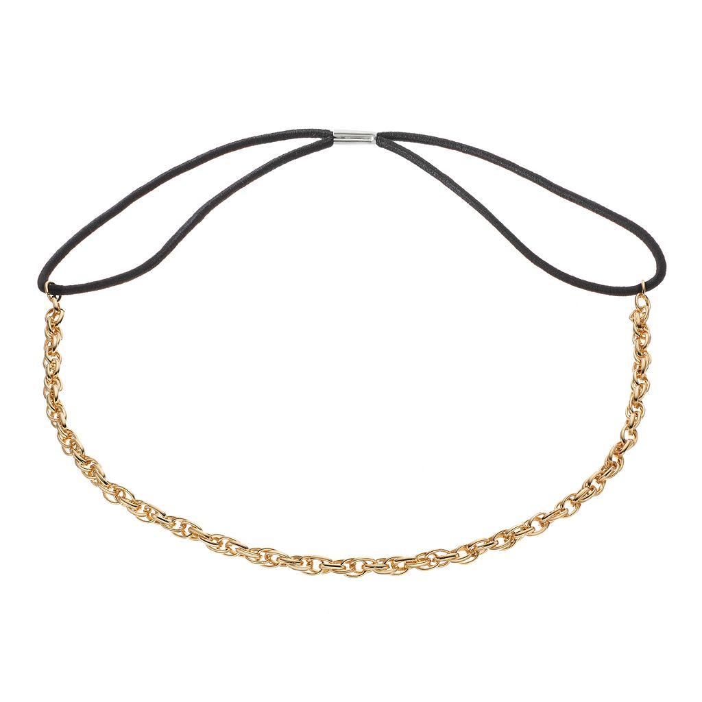 LC Lauren Conrad Rope Chain Headband