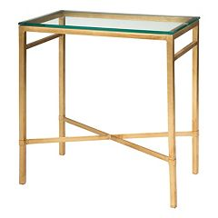 Safavieh Couture Viggo Gold Finish End Table