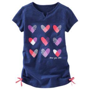 Girls 4-8 OshKosh B'gosh® Heart Cinched Tunic