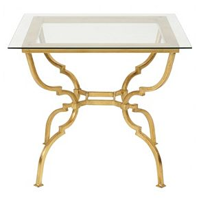 Safavieh Couture Novalei Gold Finish End Table