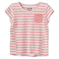 Toddler Girl Jumping Beans® Striped High-Low Hem Tee