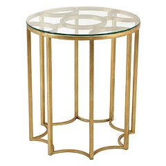Safavieh Couture Round Geometric End Table