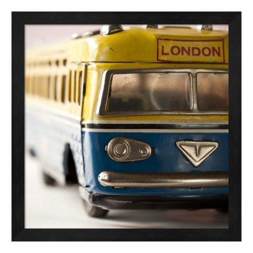 Yellow Bus Framed Wall Art