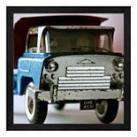 Blue Truck Framed Wall Art