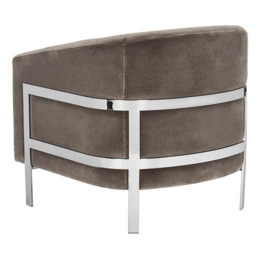 Safavieh Couture Velvet Club Accent Chair