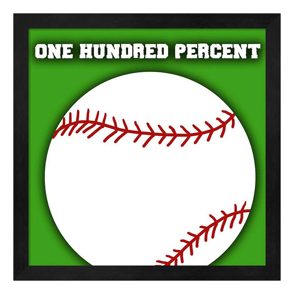 Baseball Framed Wall Art