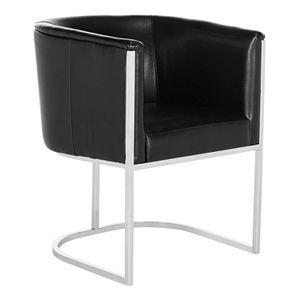 Safavieh Couture Leather Club Accent Chair