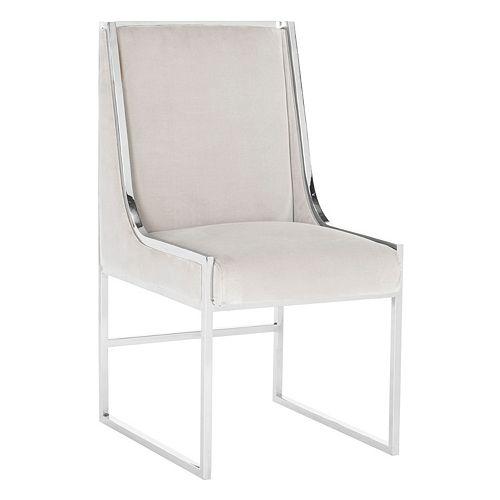 Safavieh Couture Arteaga Velvet Accent Chair
