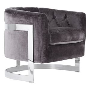 Safavieh Couture Velvet Accent Chair