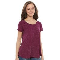 Juniors' SO® Cross Back Tee
