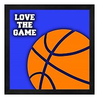 Basketball Framed Wall Art