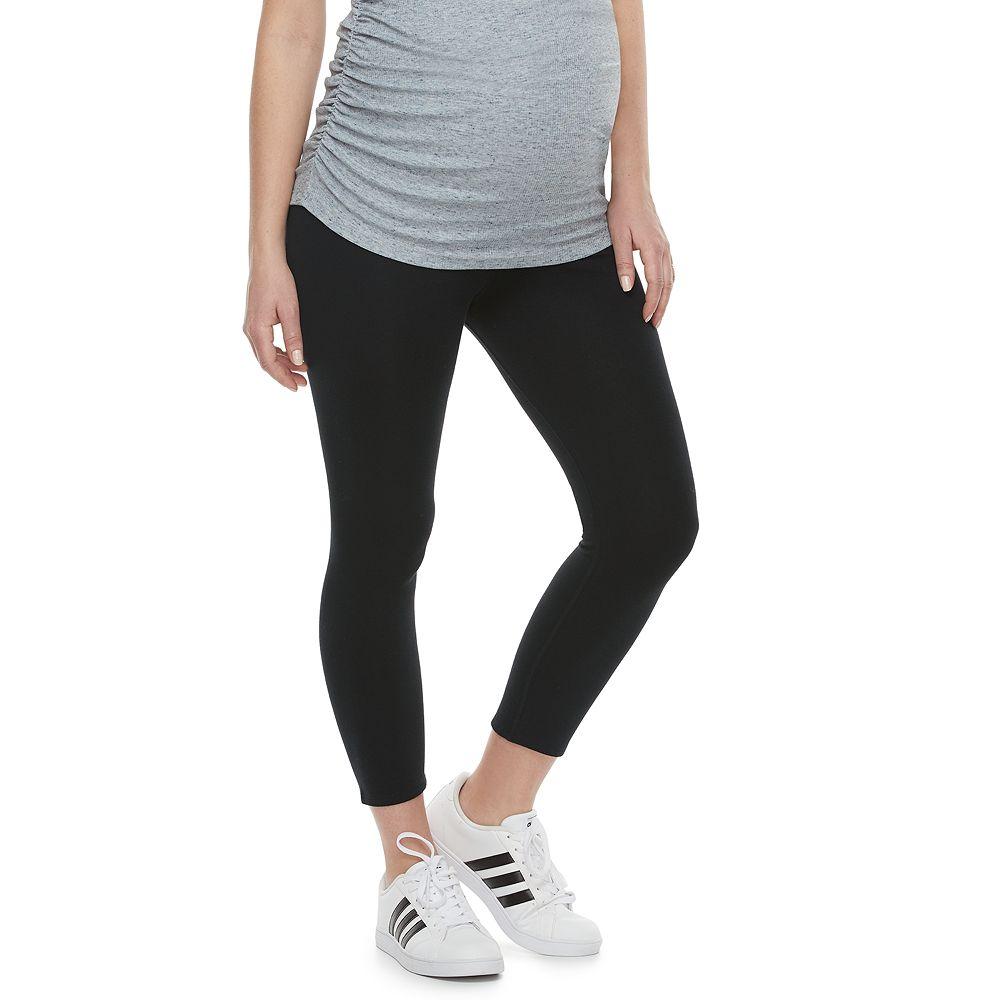 Maternity a:glow™ Full Belly Panel Capri Leggings