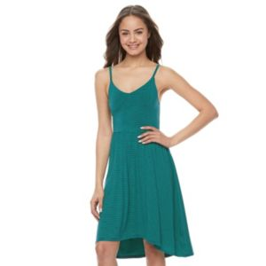 Juniors' SO® High-Low Strappy Dress