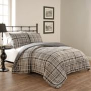 Beautyrest 3-piece Casimir Plaid Comforter Set