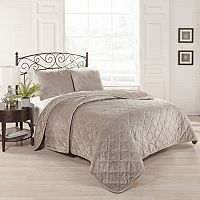 Beautyrest 3 pc Collette Quilted Coverlet Set
