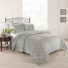 Beautyrest 3-piece Collette Quilted Coverlet Set