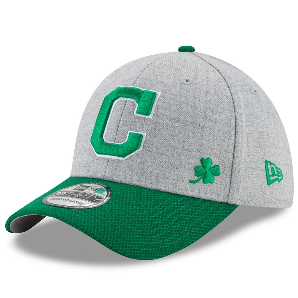 Adult New Era Cleveland Indians Change Up Redux St. Patrick's Day 39THIRTY Fitted Cap