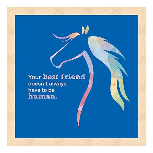 Horse Quote 11 Framed Wall Art