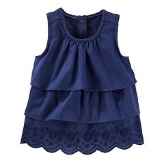 Girls 4-8 OshKosh B'gosh® Tiered Embroidered Top