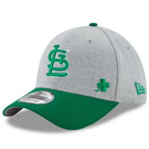 Adult New Era St. Louis Cardinals Change Up Redux St. Patrick's Day 39THIRTY Fitted Cap